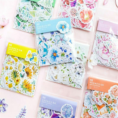 Decorative Scrapbooking Planner Stickers Paper Stickers Quality Flower Adhesive