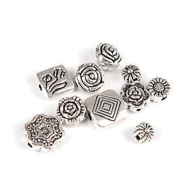 Wholesale Mixed Tibet Silver Beads Spacer For Jewelry making European Bracelets