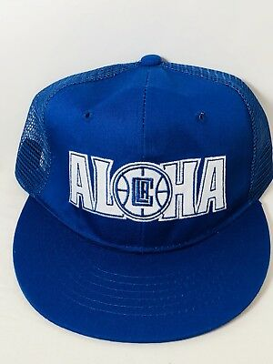 best sneakers c638e 9addd Los Angeles Clippers Hat Aloha Hawaii Collectors Edition Mesh Cap Clipper  Nation