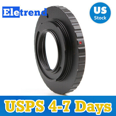 Dual Purpose Adapter Ring For M42 Screw C Mount Len to Micro Four Thirds 4/3 M43