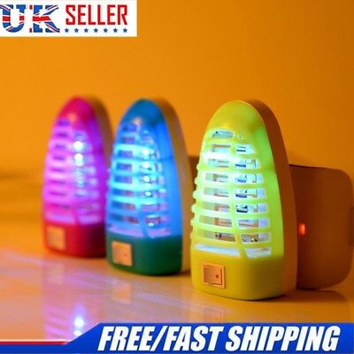 Mosquito Killer Fly Bug Insect Trap Zapper w/ LED Lamp Pest Trap Light US Plug