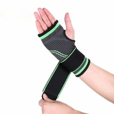 Breathable Sports Gym Safety Wristband Wrist Palm Wrap Fitness Protector Bandage