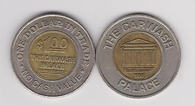 The Carwash Palace $1 Token - Bi-Metallic