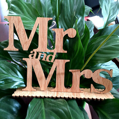 Letters Mr Mrs Wedding Party Table Decoration Ornament Sign Photo Props Alluring