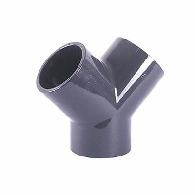 Plain Y (Wye) Joint for PVC Pressure Pipe Metric Solvent Weld
