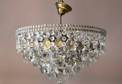 Flush Low Ceiling Chandeliers Sale Antique French Vintage Crystal Lamps Lighting