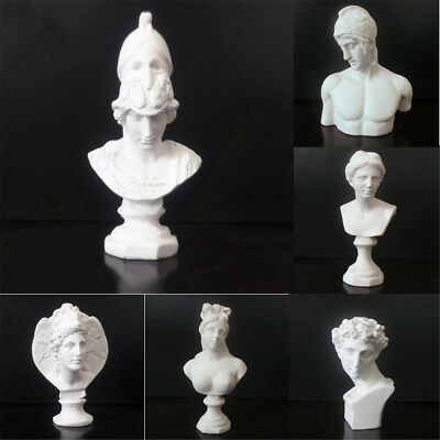 Resin Sculpture Drawing Sketch Plaster Bust Cast Figure Statue Model Art Decor