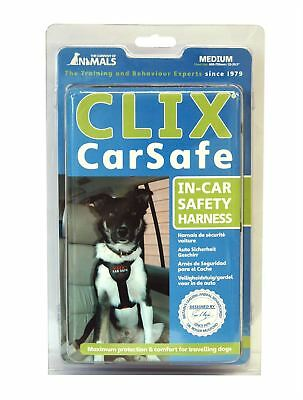 Company of Animals Clix Car Safe Dog Puppy Safety Belt Harness (Medium)