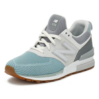 online store 310d0 30067 NEW BALANCE MENS Trainers Grey & Blue 574 Sport Lace Up Casual Running Shoes