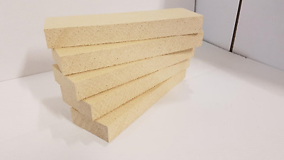 """15 x Vermiculite stove fire bricks compatible with Villager Stoves 4.5/"""" x 9/"""" x 1"""
