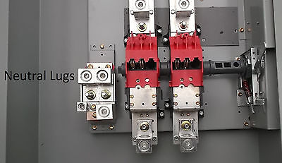 Double Throw 400 Amp Generator Manual Transfer Switch DT225URK-NPS