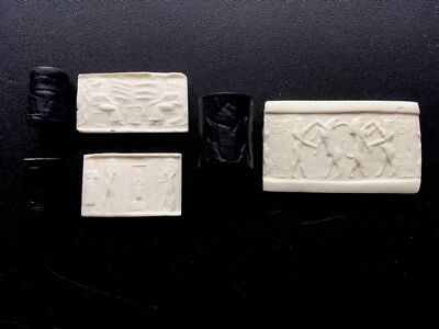 Ancient Cylinder Seal Set of Genesis Recreations