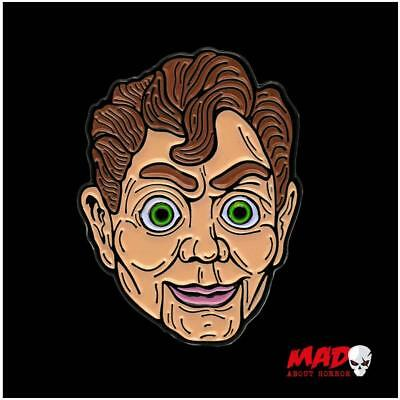 Official Texas Chainsaw Massacre Leatherface Enamel Pin TOTS Horror Collectible