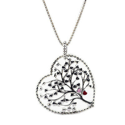 Pendant necklaces & pendants Tree of Love Necklace Mixed Enamel 925 STERLING SIL