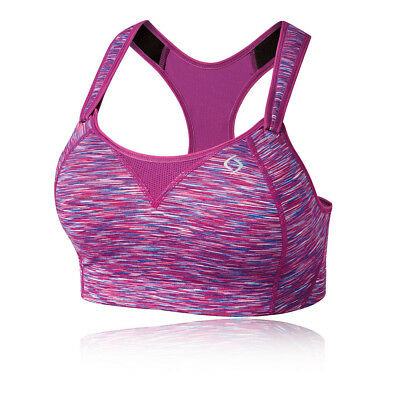 4b1e399daa Moving Comfort Womens Rebound Racer Bra Purple Sports Gym Breathable  Lightweight