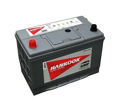 Hankook 90Ah Deep Cycle Leisure Caravan Battery 12V DC27S - 4 Year Warranty