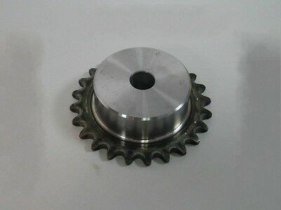 """#25 Chain Drive Sprocket 22T Pitch 1/4"""" 04C22T Outer Dia 46mm For 04C #25 Chain"""