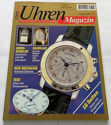 7313) Grand Reveil / Schwarz Etienne / Orea Chronoswiss in Uhren Magazin 1995