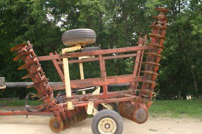 Krause/Kuhn 21' Disk 21 foot bat wing GREAT for the farm