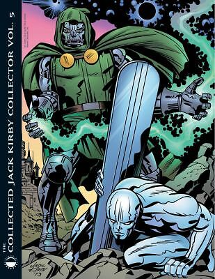 The Collected Jack Kirby Collector Vol. 5 Paperback Book - Vhtf - Brand New Nm