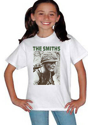 The Smiths Meat Is Murder Morrissey Kids Boys Girls Teenager Top T Shirt 806