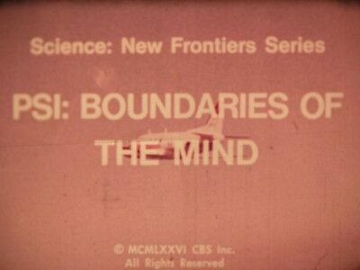 P.S.I. Boundaries Of The Mind 16mm short film 1976 Michael Creedman