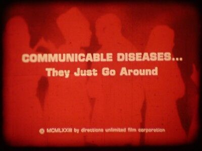 Communicable Diseases They Just Go Around 16mm short film 1973