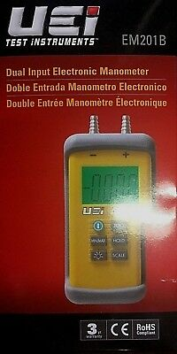 UEI Test Instruments EM201B Sual Input Electronic Manometer