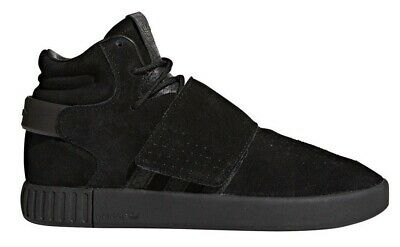 BY3632  MENS ADIDAS Originals Tubular Invader Strap Sneaker - Black ... 2d0e041bf