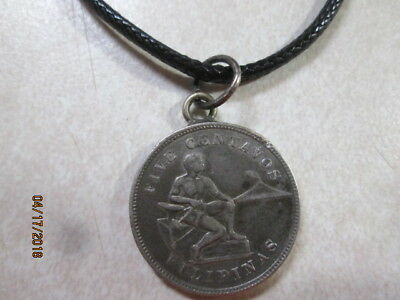 Old Coin Necklace 1903 Filipinas