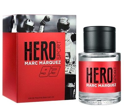 HERO SPORT de MARC MARQUEZ - Colonia / Perfume EDT 100 mL - Hombre / Man / Uomo
