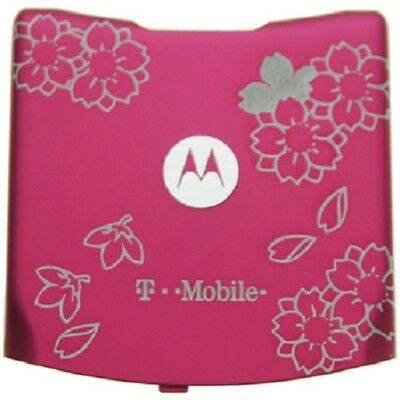Lot Of 100 New Oem Motorola V3 Battery Doors (Pink Flowers)