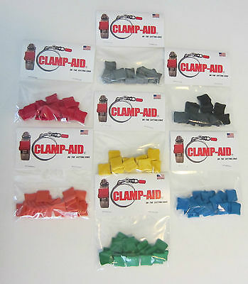 Green Industrial Safety Protectors caps for Worm drive hose clamps by CLAMP-AID