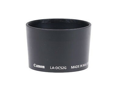 Canon LA-DC52G Powershot A570 IS to 52mm Lens Attachment Adapter