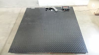 Pinnacle PS3000-55-5N 60x60 In 5000 Lb Cap Floor Scale w/Remote Indicator