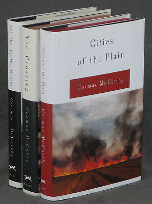 Cormac McCarthy / Border Trilogy in 3 volumes All the Pretty Horses -- 1st ed