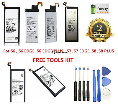 OEM Replacement Battery For Samsung Galaxy S6 S7 Edge S8 S9 Plus S10 Note 9 8 5