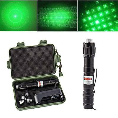 50Mile Military 5mw Green Laser Pointer Pen Light 532nm Visible Beam Burn Focus