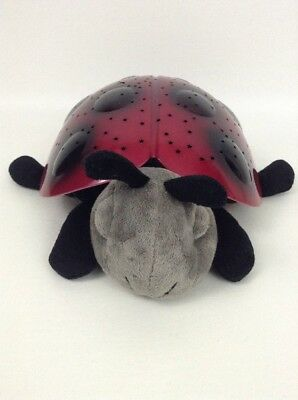 Cloud B Baby Twilight Red Ladybug Lights Sounds Starry Sleep Baby Night Light