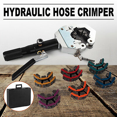71500 Hydraulic Hose Crimper Tool Kit Hose Fittings Automotive Hydra Krimp