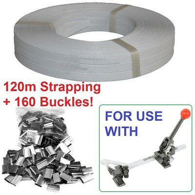 1.5cm Strap And Buckles For Pallet Strapping Hand Tool Carton Wrapping Machine