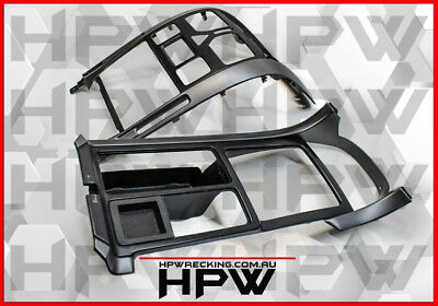 VY HSV Carbon look Dash faschia trim UPPER & LOWER fits Vz models with climate
