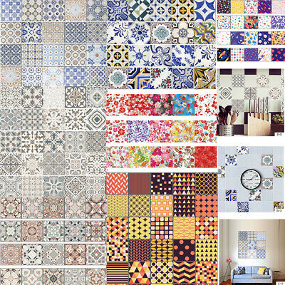100*20cm Removable Self Adhesive Tile Sticker PVC Decal Wall Art Home Room Decor