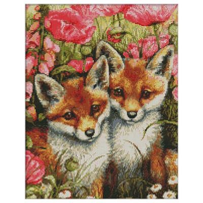 DIY Handmade Needlework Counted Cross Stitch Set Embroidery Kit 14CT Lovely F8H5