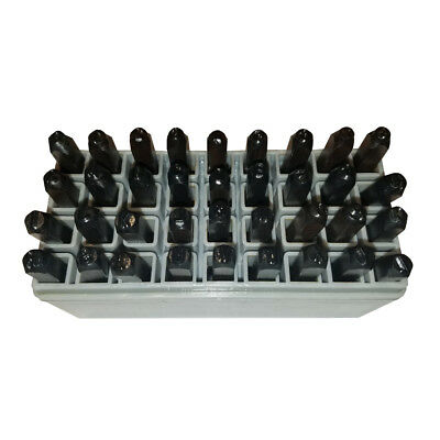 """HFS Number & Capital Letter Punch Set 36 Pc ; 1/4"""" - 6Mm, Transfer Punches"""