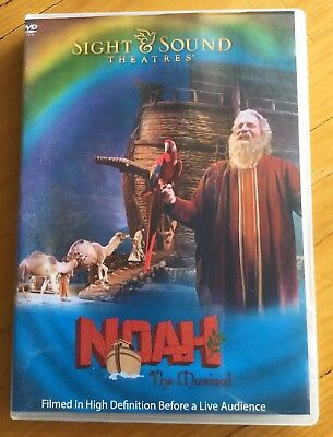 Noah The Musical DVD by Sight and Sound Theatres- Christian- Like New!