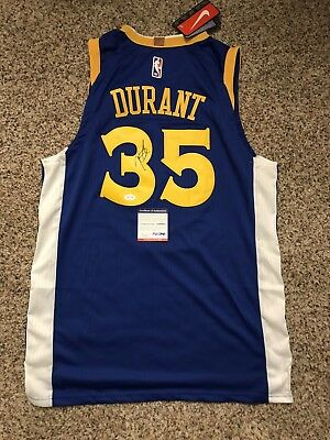 ce1bcfbc KEVIN DURANT SIGNED Jersey Golden State Warriors Autograph Psa/dna ...