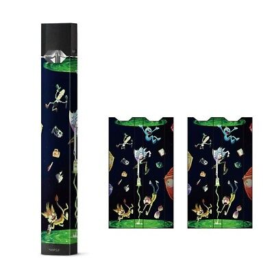 Skin Decal Wrap For JUUL Rick and Morty