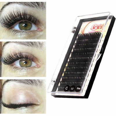 Soft Silk Korea Individual Eyelash Natural Volume Eye Lashes Extension Makeup