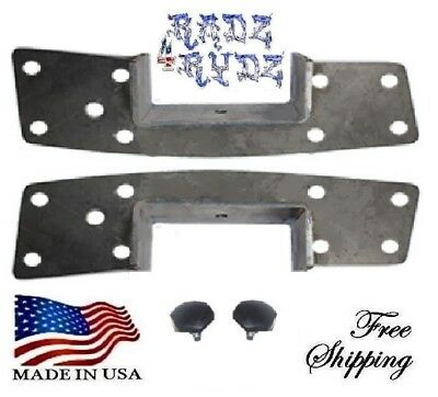 1973-1991 Chevy GMC C20 C30 C2500 C3500 Frame C Notch C Section Lowering Kit